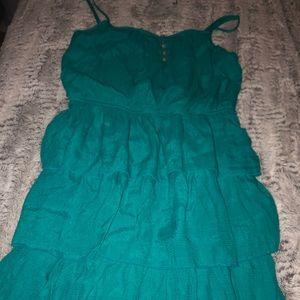 Blue summer  dress!👗 😁♥️